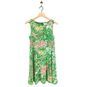 Anthropologie Maeve Laced Verbena Dress Size 6